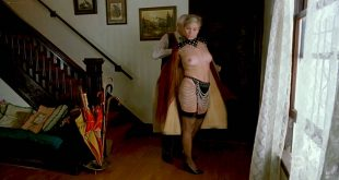 Theresa Russell nude topless, thong and lot of sex Stephanie Blake nude - Whore (1991) HDTV 720p (8)