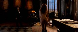 Charlize Theron nude full frontal Connie Nielsen nude bush - The Devil's Advocate (1997) HD 1080p BluRay (4)
