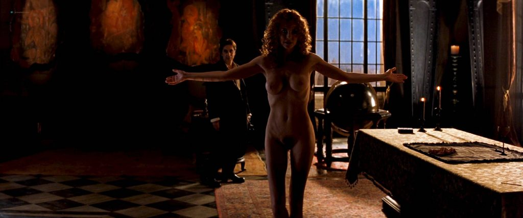Charlize Theron nude full frontal Connie Nielsen nude bush - The Devil's Advocate (1997) HD 1080p BluRay (2)