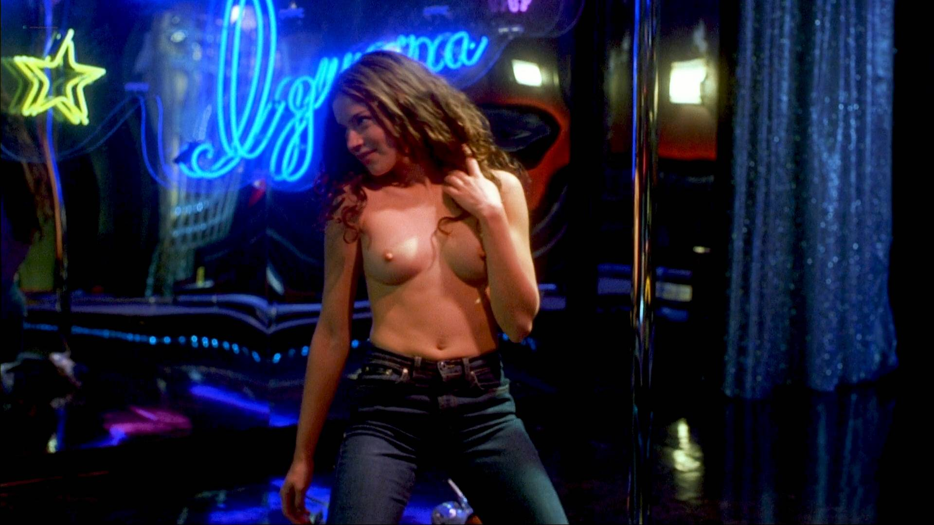 Kristin bauer topless dancing at the blue iguana 2000 7