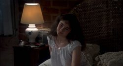 Diane Franklin nude nipple and hot - Amityville II (1982) HD 1080p BluRay (7)
