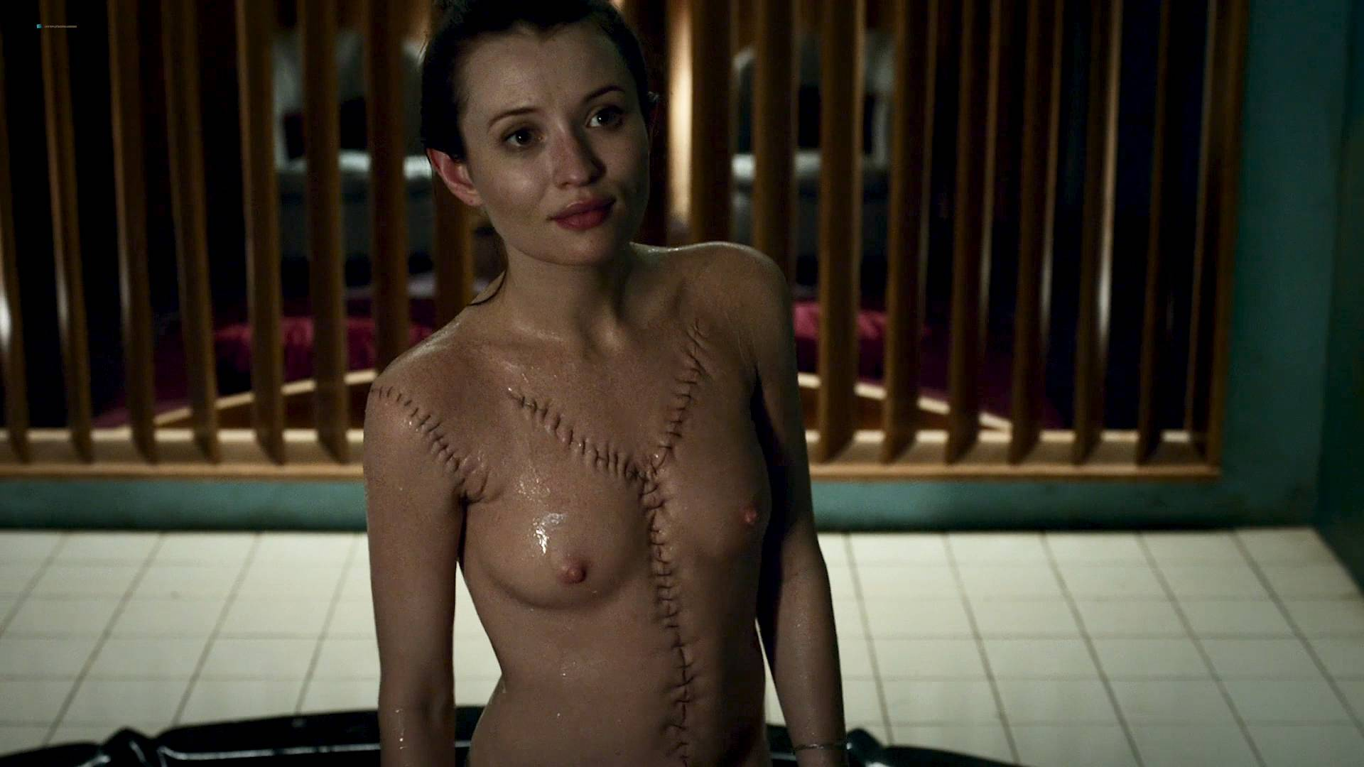 Emily browning topless