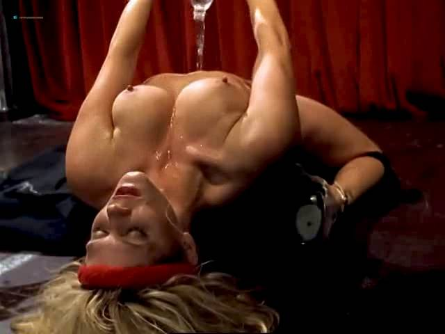 Ginger Lynn nude bush, topless and butt - Turn the Page (1999) (7)