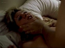 Ginger Lynn nude bush, topless and butt - Turn the Page (1999) (2)