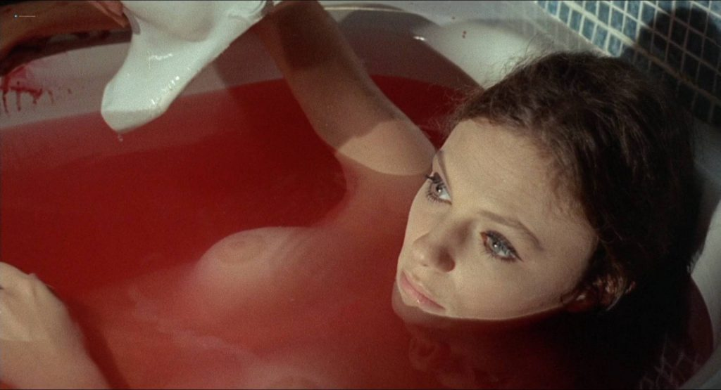 Jacqueline Bisset nude topless and Barbara Parkins nude - The Mephisto Waltz (1971) HD 1080p BluRay (2)