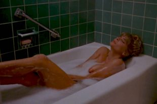 Kathryn O'Reilly nude topless in the tube and Irene Miracle hot see through - Puppet Master (1989) HD 1080p (8)