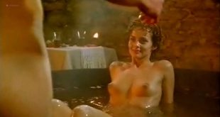 Izabella Scorupco nude butt, boobs and wet Erika Höghede and other's nude - Petri tårar (SW-1995) (8)