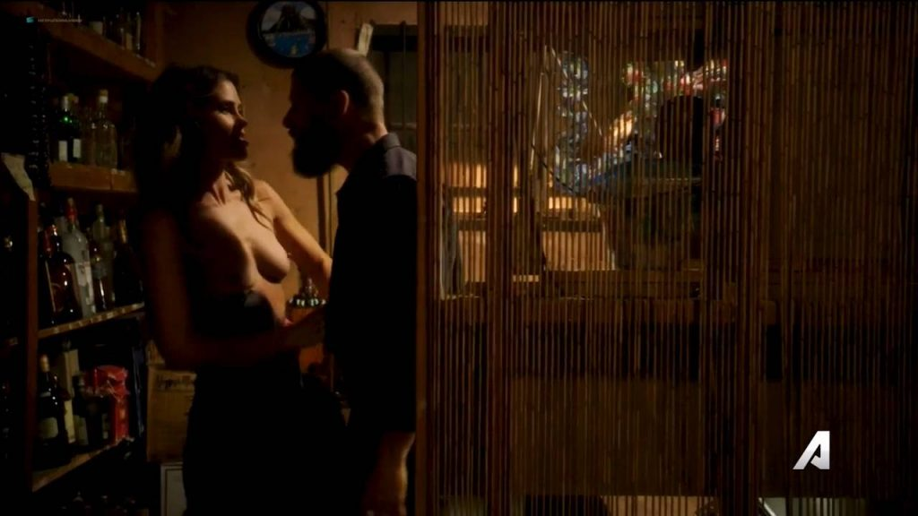 Anna Hutchison nude topless and sex Kira Noir nude sex too - Kingdom (2017) s3e5 HDTV 720p (4)
