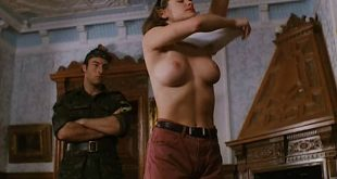 Athena Massey nude topless and sex outdoor - Termination Man (1998) (8)