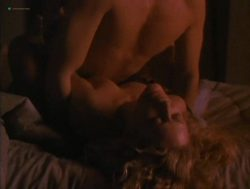 Beverly D'Angelo nude sex in the shower Sharon Farrell nude Rebecca Street bikini - Lonely Harts (1991) (15)