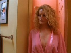 Beverly D'Angelo nude sex in the shower Sharon Farrell nude Rebecca Street bikini - Lonely Harts (1991) (13)