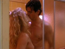 Beverly D'Angelo nude sex in the shower Sharon Farrell nude Rebecca Street bikini - Lonely Harts (1991) (10)