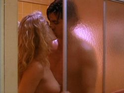 Beverly D'Angelo nude sex in the shower Sharon Farrell nude Rebecca Street bikini - Lonely Harts (1991) (9)