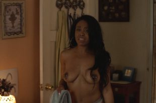 Dominique Perry nude butt boobs and hot sex - Insecure (2017) s2e1 HD 1080p (5)
