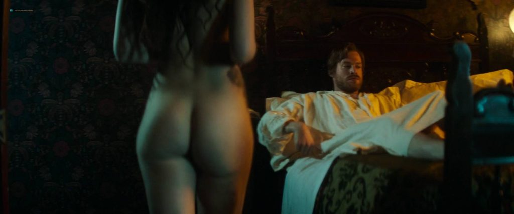 María Valverde nude topless and butt - The Limehouse Golem (2016) HD 1080p Web (5)