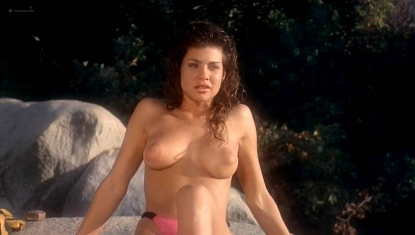 Teri Weigel nude topless Vickie Benson, Betsy Russell and other's hot and sexy - Cheerleader Camp (1988) (12)