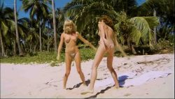 Olivia Pascal nude topless Ursula Buchfellner and Christine Zierl nude too - Cola Candy Chocolate (DE-1979) (8)