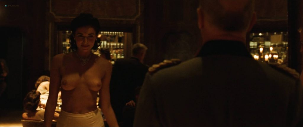 Rosamund Pike hot butt and sex Mia Wasikowska sex nipple, others topless - The Man with the Iron Heart (2017) HD 1080p (9)