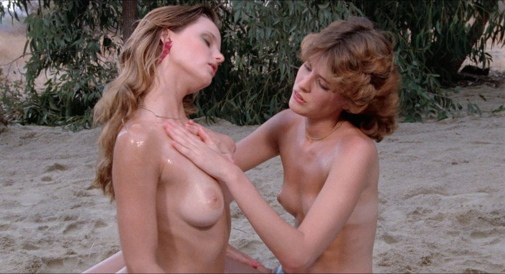 Amber Lynn nude full frontal and sex Crystal Breeze bush doggy style others nude and hot - Evils of the Night (1985) HD 1080p BluRay (11)