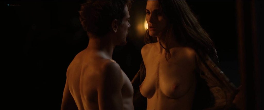 Michelle Dockery nude topless - Godless (2017) S1 HD 1080p Web (5)