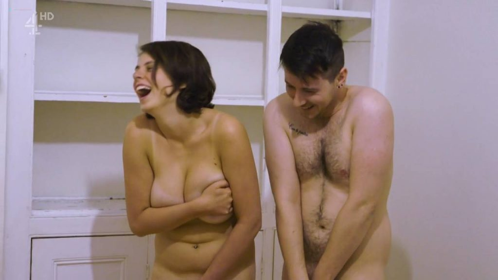 Heidi Michelle May nude butt and boobs Laura and Georgia Sheppard nude butt - Life Stripped Bare (UK-2016) s1e1 HDTV 720p (7)