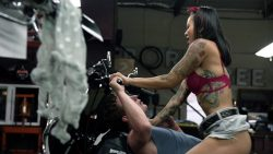 Levy Tran nude topless and sex – Shameless (2017)s8e5 HD 1080p (5)