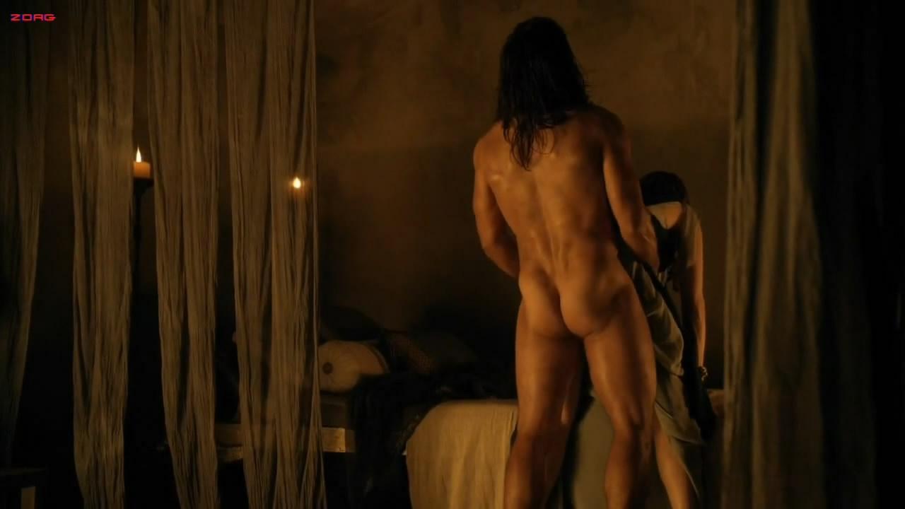 spartacus nude