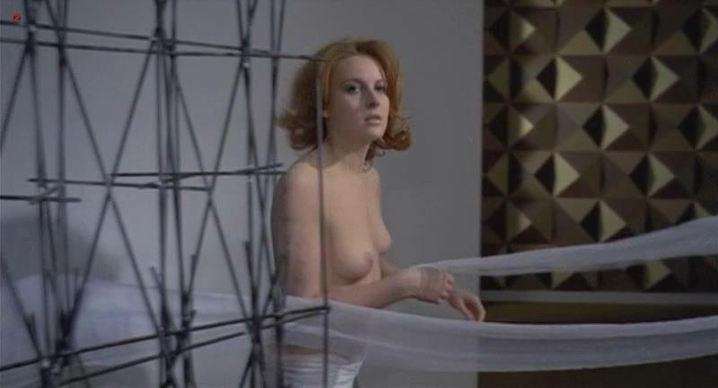 Dagmar Lassander nude topless in – The Laughing Woman (1969)