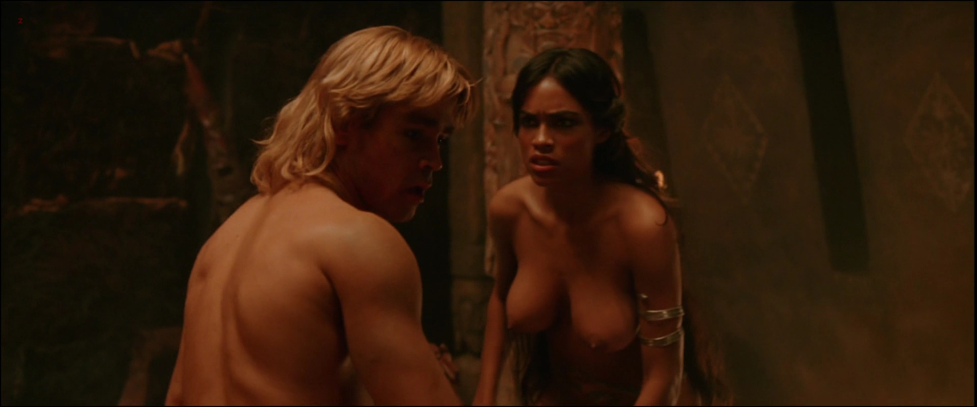 Rosario Dawson nude topless and hot sex in – Alexander (2004) hd1080p