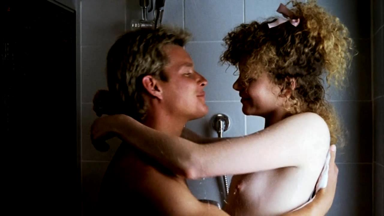 Nicole Kidman nude in shower and butt naked – Windrider (1986) HD 720p