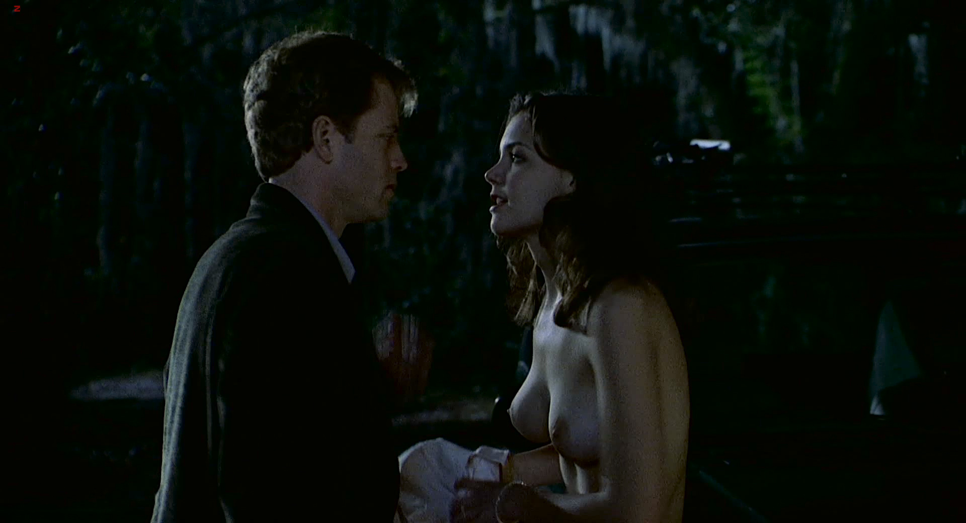 Katie holmes topless in the gift