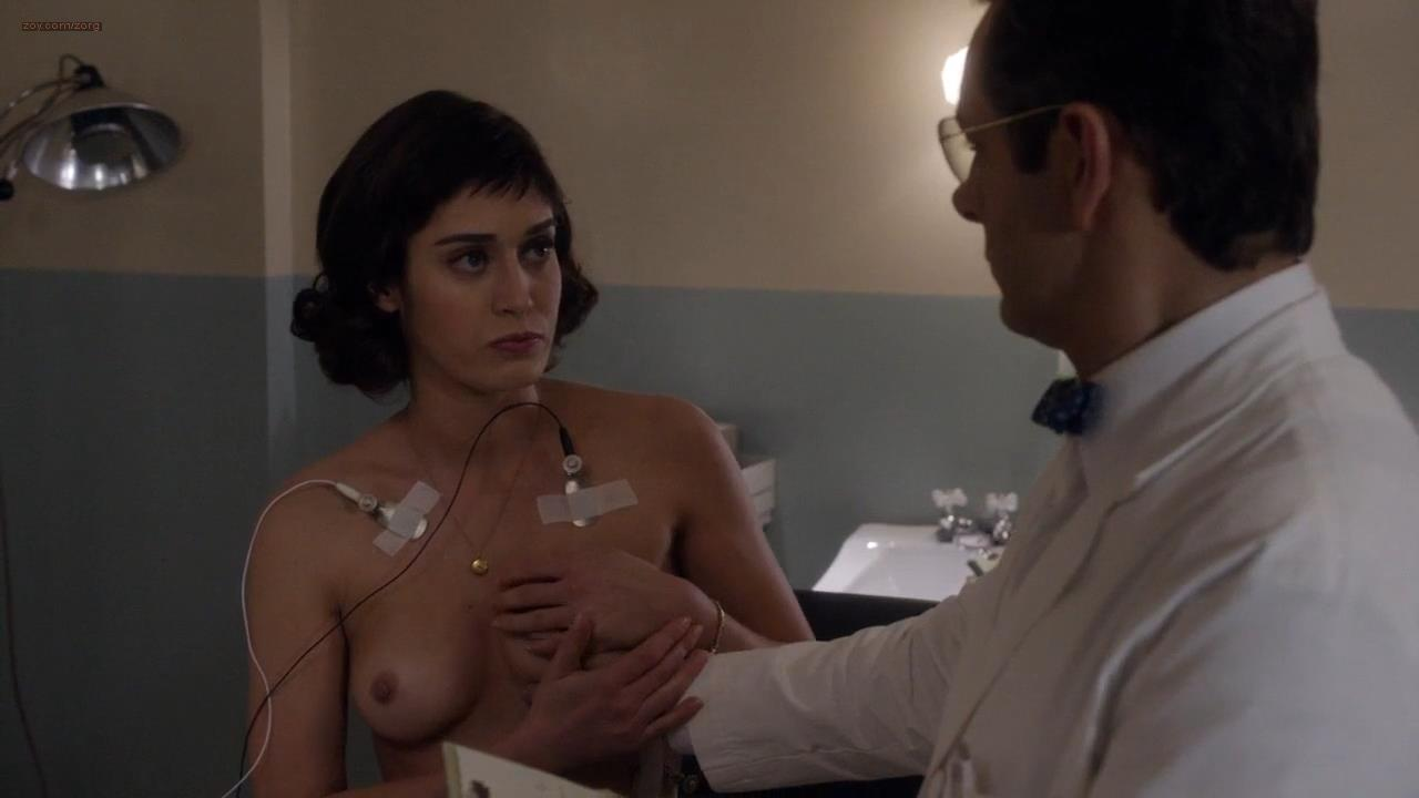 Lizzy Caplan nude topless and Helene Yorke nude topless too – Masters of Sex (2013) s1e6 hd720p