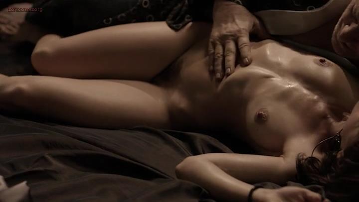 Manuela Martelli nude full frontal bush and sex – The Future (2013)