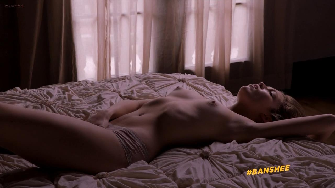 Lili Simmons nude topless and masturbation  and Baby Norman  nude topless in the tube – Banshee (2014) s2e2 hd720/1080p
