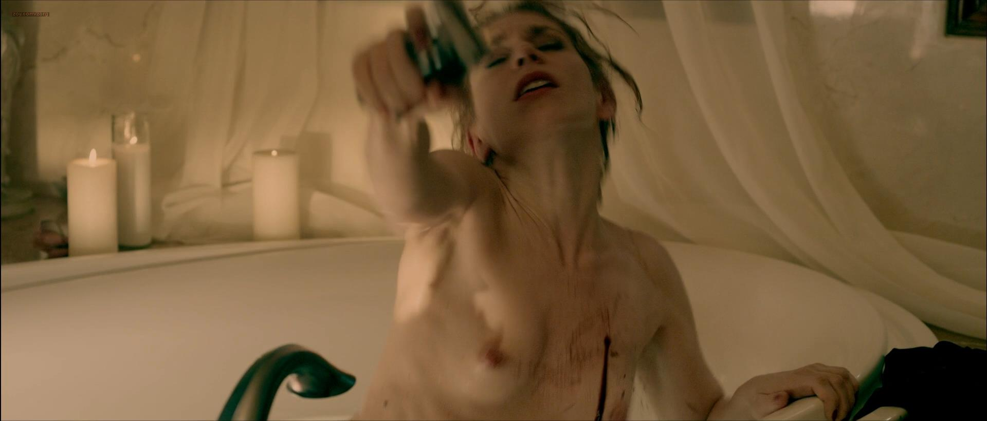 Julia Dietze nude brief topless in the bath – Bullet (2014) hd1080p