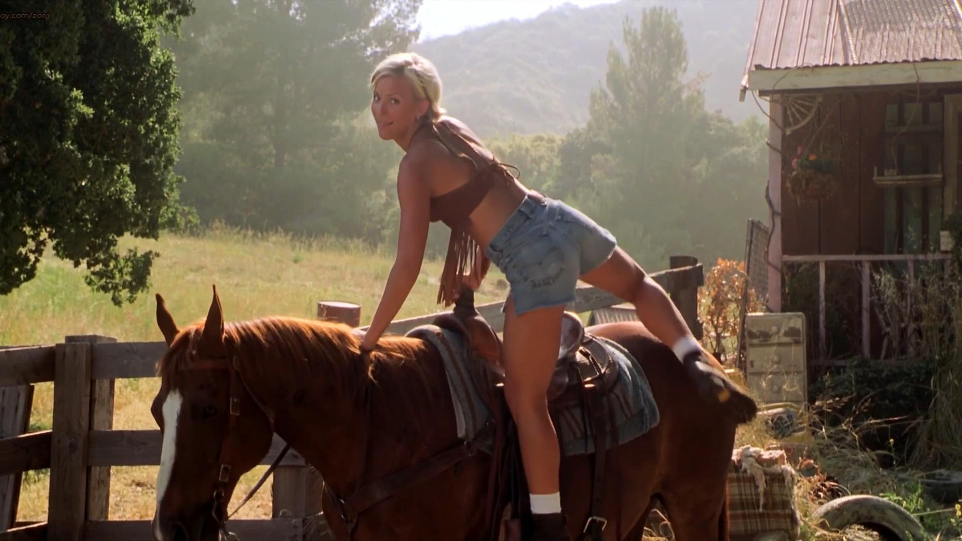 Brittany Daniel hot leggy and Jaime Pressly hot – Joe Dirt (2001) hd1080p