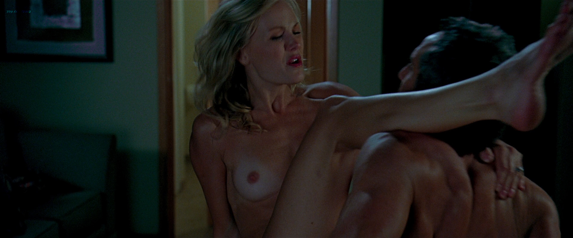 Malin Akerman Nude And Wild Sex And Kayla Kleevage Nude -9838