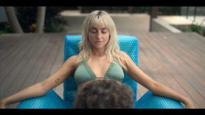 BeBe Bettencourt nude butt Cassandra Sorrell Sophie Wilde nude hot and lesbian sex Eden AU 2021 s1e1 3 1080p Web 18